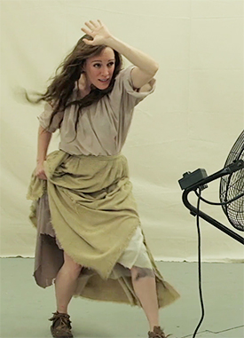 Actor Portrayal of Mary Draper Ingles (c. 1732 –1815) at the StudioEIS photoshoot