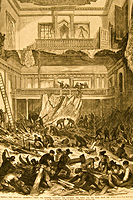 Capitol Disaster drawing from Frank Leslies Illustrated Newspaper, 14 May 1870.