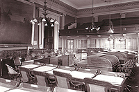 Old Senate Chamber ca. 1891