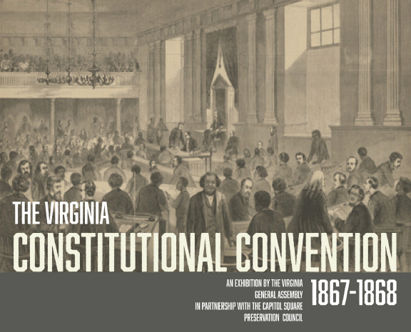 Exhibit held in the Virginia Capitol Extension
