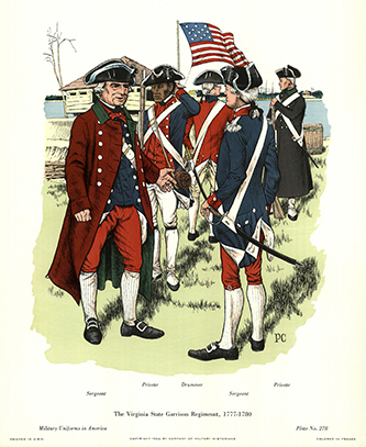 The Virginia State Garrison Regiment, 1778-1780
