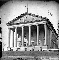 The Capitol in April of 1865